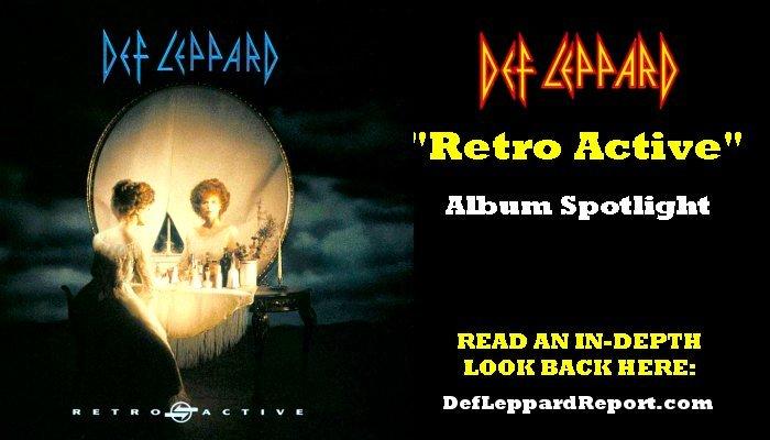 Def Leppard Retro Active album spotlight