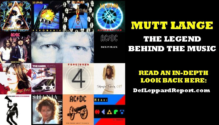 Mutt Lange: Hit Songs, Hit Albums, And So Much More!