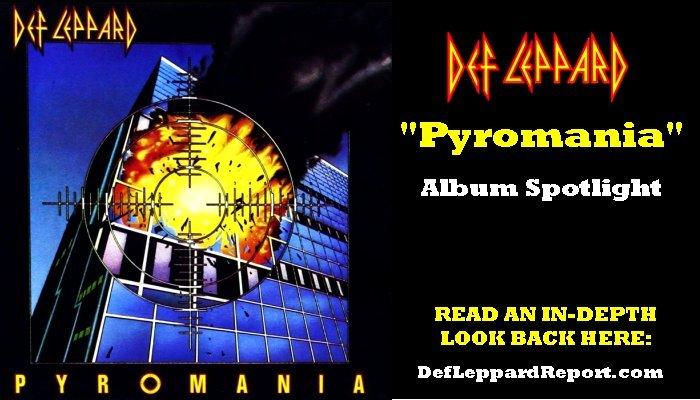 Def Leppard Pyromania Album Spotlight