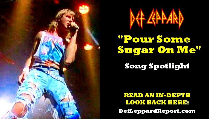 def leppard pour some sugar on me song